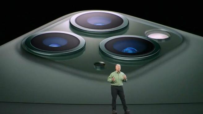 Imagen de la presentación del iPhone 11 Pro.