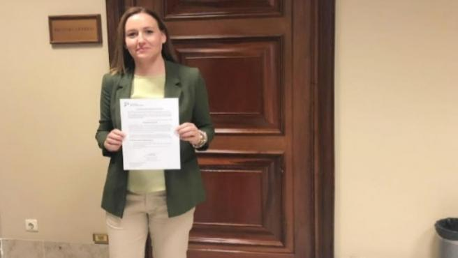 La diputada del Grupo Parlamentario Ciudadanos (Cs) por la provincia de Jaén, Marian Adán