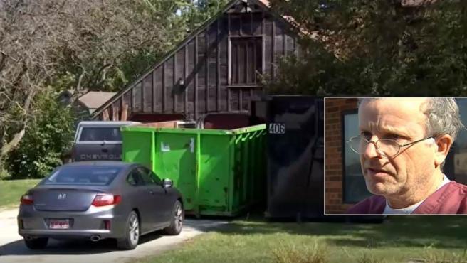 Imagen de la vivienda del doctor Ulrich Klopfer, ya fallecido, donde se han encontrado más de 2.000 fetos.