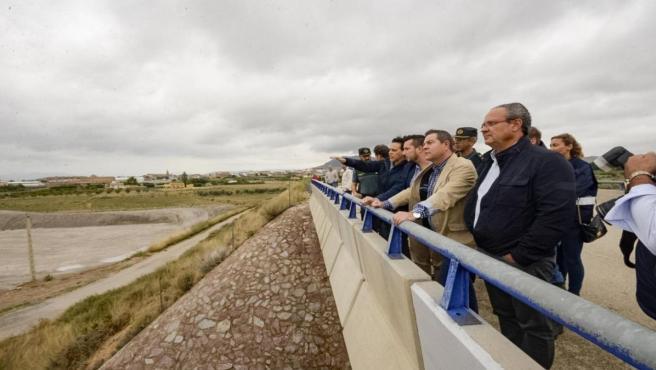 El presidente de Castilla-La Mancha, Emiliano García-Page, visita Caudete y Almansa