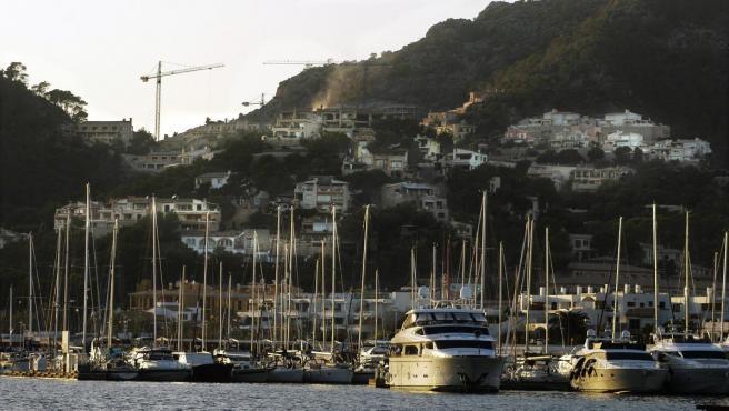 Port d'Andratx, en Mallorca.