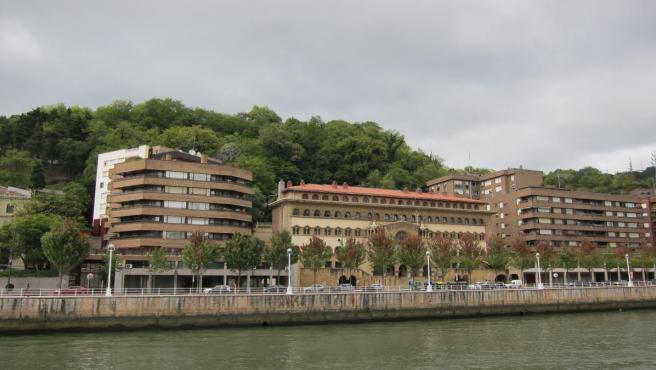 Nubes en Bilbao