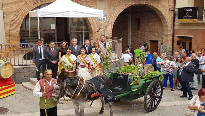 Olona en la XXX Fiesta de la Vendimia de la DOP Campo de Borja.