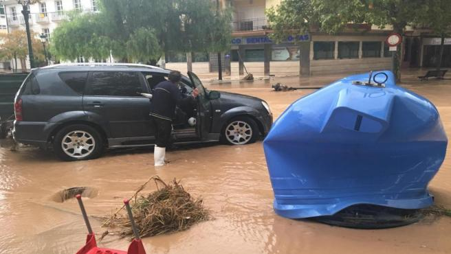Lluvias, malaga, inundaciones, octubre 2018