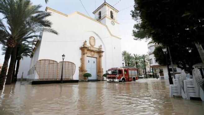 Efectos de la DANA en Dolores (Alicante) Septiembre 2019