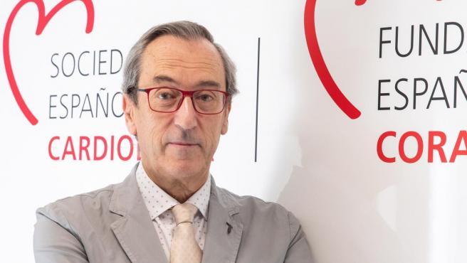 El doctor Manuel Anguita, presidente de la Sociedad Española de Cardiología.