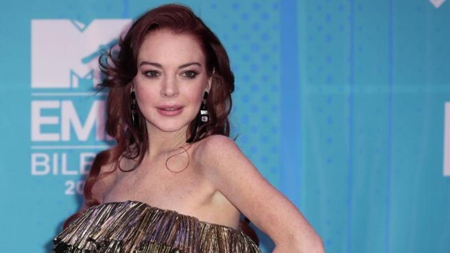 La actriz Lindsay Lohan, en 2018.