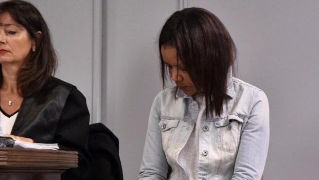 Ana Julia Quezada, autora confesa de la muerte del niño Gabriel Cruz, en la sexta sesión de proceso que juzga la muerte del pequeño.