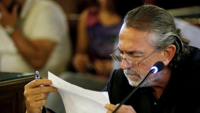 Francisco Correa en una declaración ante el juez.