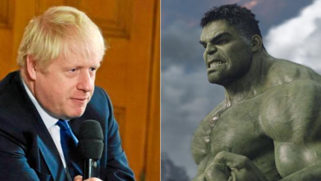 Boris Johnson ha comparado el Brexit con Hulk, y Mark Ruffalo no está dispuesto a consentirlo