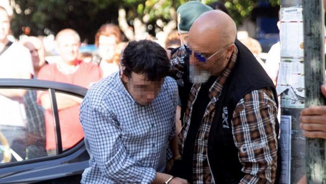 El autor confeso del triple crimen de Valga, José Luis Abet Lafuente.