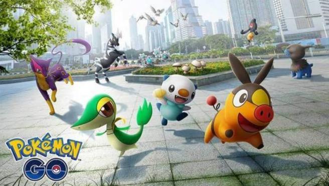 Los Pokémon de la quinta generación llegan a 'Pokémon Go'.