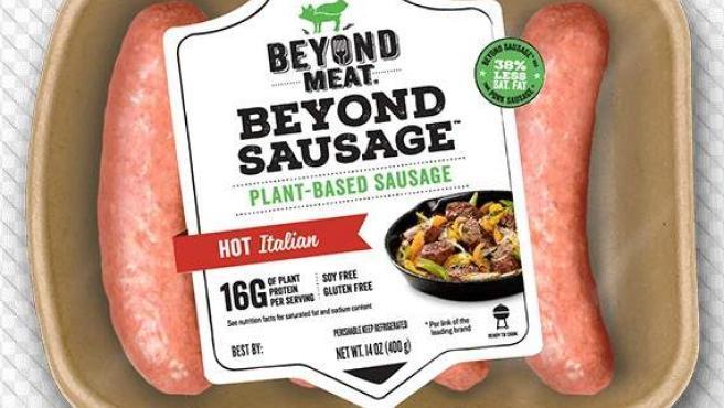 Salchichas de Beyond Meat