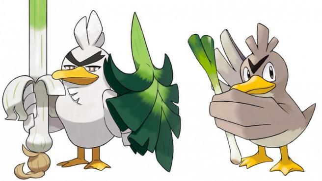 Sirfetch'd, forma Galar del Pokémon Farfetch'd.