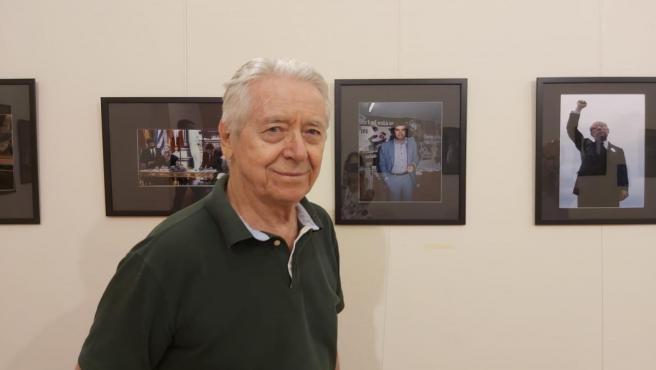 Robert Royal expone sus trabajos en Cáceres