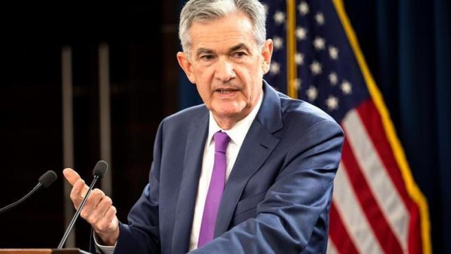 El presidente de la Junta de Reserva Federal de EE UU, Jerome Powell.