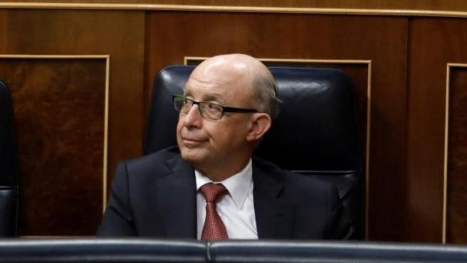 Cristóbal Montoro, diputado del Pp y ex ministro de Hacienda