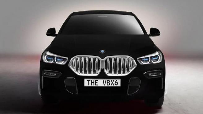 BMW X6 pintado con Vantablack, el coche más negro del mundo