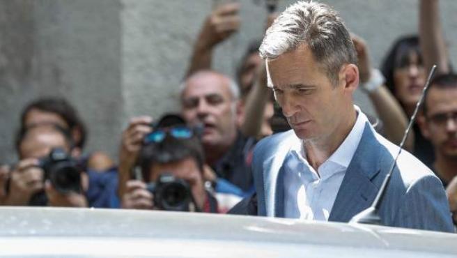 Iñaki Urdangarin, en una imagen de archivo de su proceso judicial.