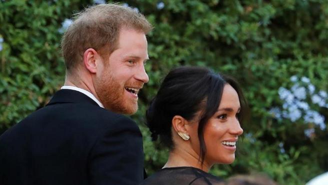 El príncipe Harry y Meghan Markle, en la boda de la diseñadora Misha Nonoo.