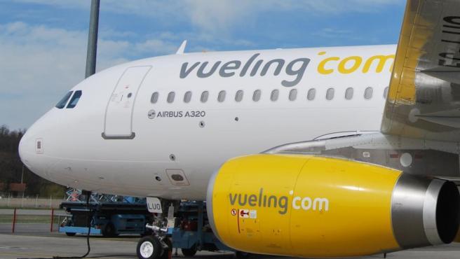 Imagen de archivo de un avión de Vueling.