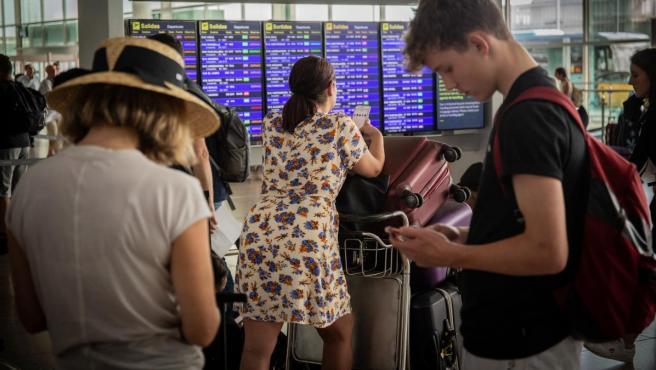 Una imagen del aeropuerto de El Prat.