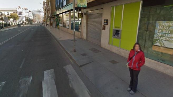 Imagen de un cajero automático en Zamora.