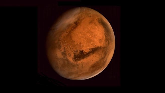 Imagen completa de Marte.