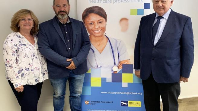 La capital acoge por primera vez un examen de inglés dirigido a profesionales sanitarios andaluces