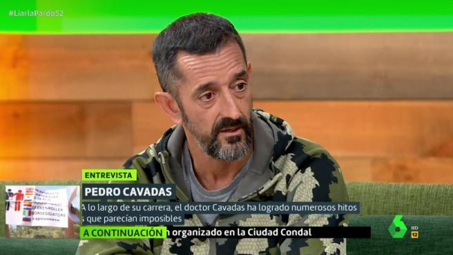 El doctor Pedro Cavadas, en 'Liarla Pardo', de La Sexta.