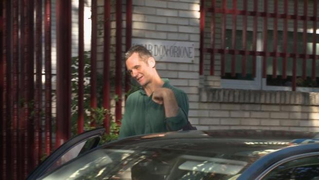 Urdangarin sale por segunda vez de prisión para hacer voluntariado