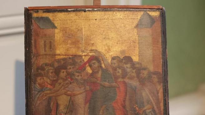 El cuadro hallado de Cimabue en una cocina.