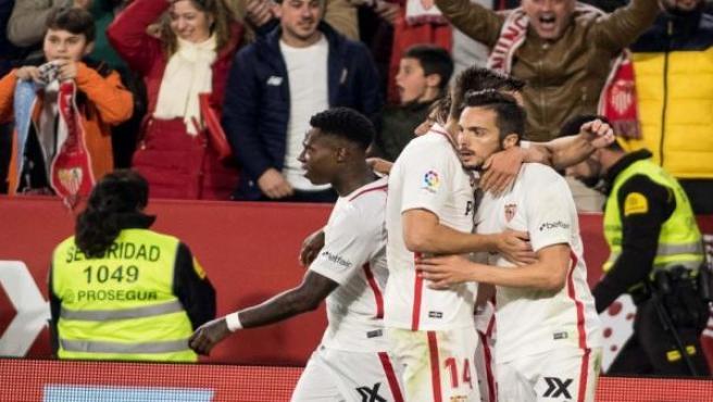 El Sevilla gana en el Pizjuán