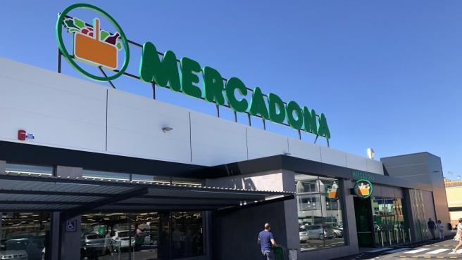 Un supermercado de la cadena Mercadona.