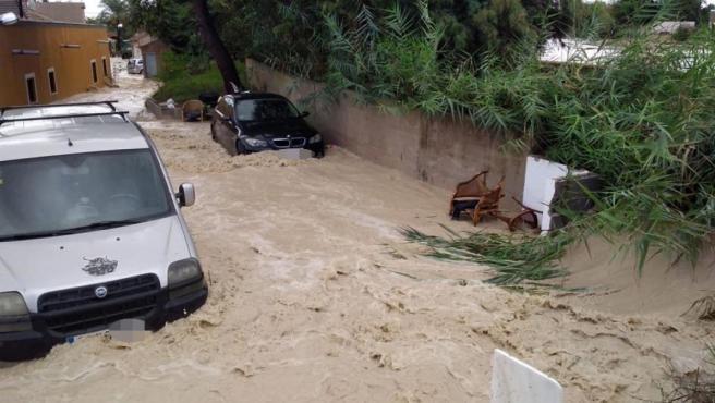 Desperfectes causats per la DANA (setembre 2019) a Almoradí (Alacant)