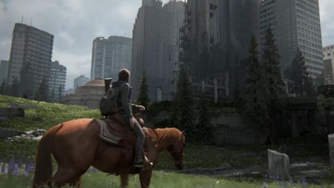 Una captura de 'The Last of Us: Part II', juego exclusivo para PlayStation 4.