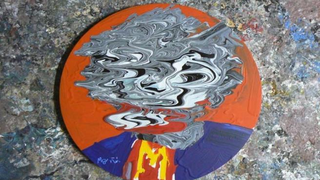 Una de las obras de José Moñú