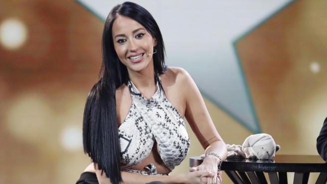 La colaboradora de Telecinco, Aurah Ruiz.