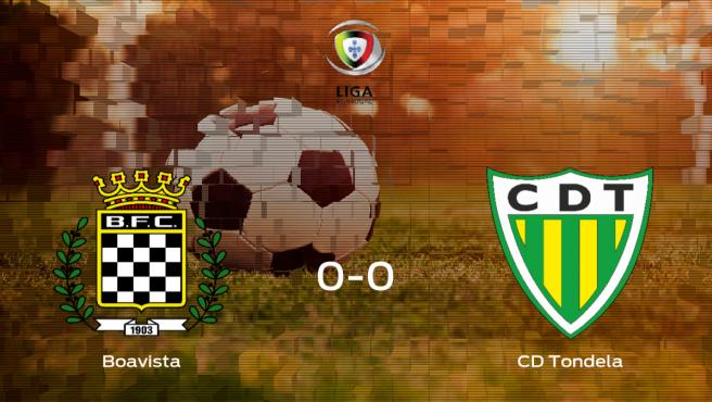 El Boavista y el Tondela consiguen un punto tras empatar a cero