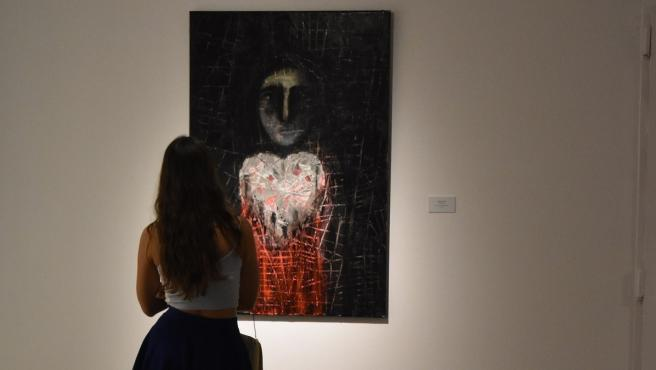 Exposición 'Se me ha olvidado que te he olvidado', organizada por la asociación de mujeres artistas Blanco, Negro y Magenta.