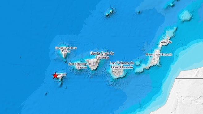 Terremoto en Canarias.
