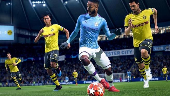 Una imagen del título 'FIFA 2o'.