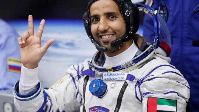Hazzaa Al Mansoori, el primer astronauta árabe que ha viajado a la Estación Espacial Internacional.