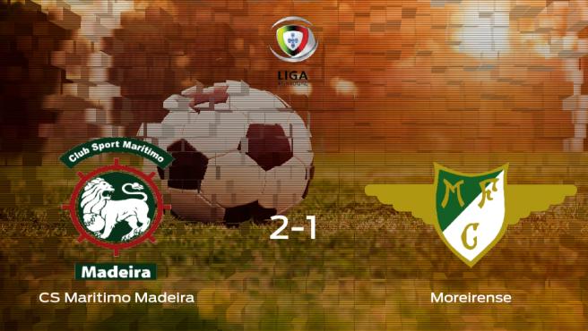 El Marítimo derrota 2-1 al Moreirense en el Estadio do Maritimo