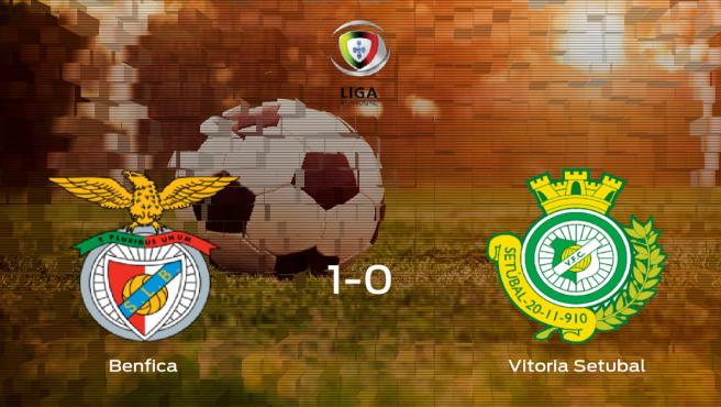 Los tres puntos se quedan en casa: Benfica 1-0 Vitória Setúbal
