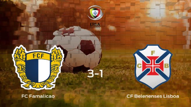 Los tres puntos se quedan en casa tras el triunfo del FC Famalicao frente al Belenenses (3-1)