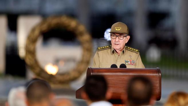 El primer secretario del Partido Comunista de Cuba, Raúl Castro.