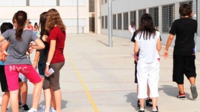 Alumnos en un instituto, en una imagen de archivo.