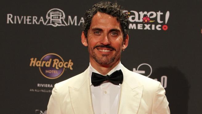 El actor y productor de cine Paco León asiste a la gala de la entrega de los Premios Platino 2019 en el parque Xcaret.
