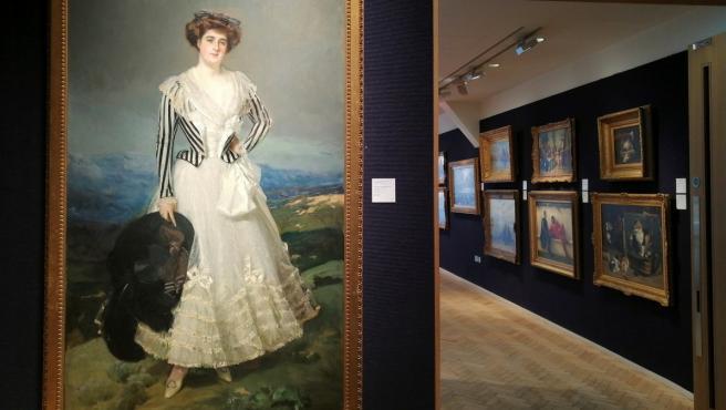 El retrato de María Luisa Maldonado y Salabert, de Joaquín Sorolla, no consigue comprador en la casa Bonhams.